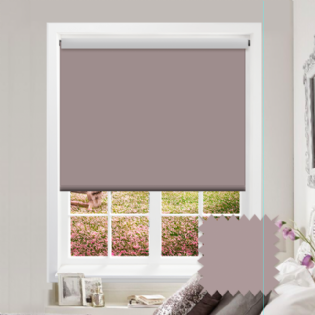 Purple Roller Blind - Bahamas Pale Violet